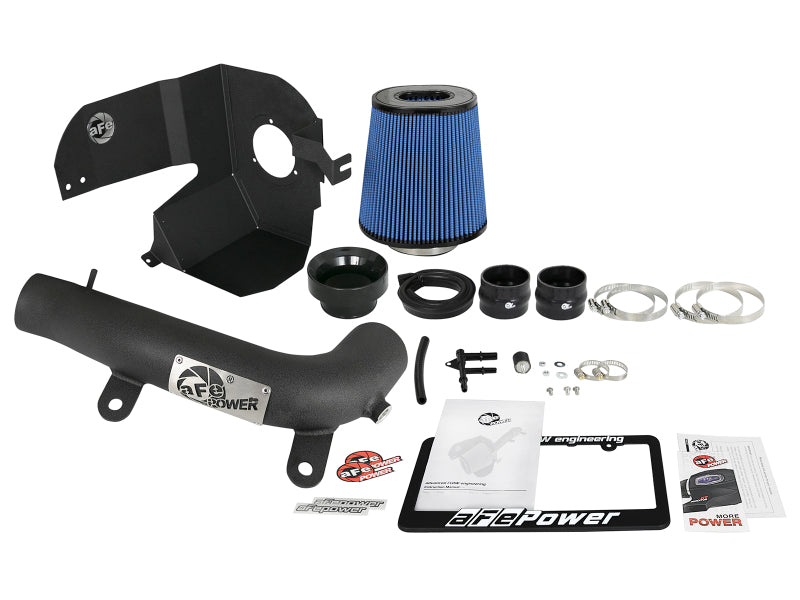 aFe Magnum FORCE Stage-2 Pro 5R Cold Air Intake System 18-19 Jeep Wrangler JL Turbo 2.0L - Black