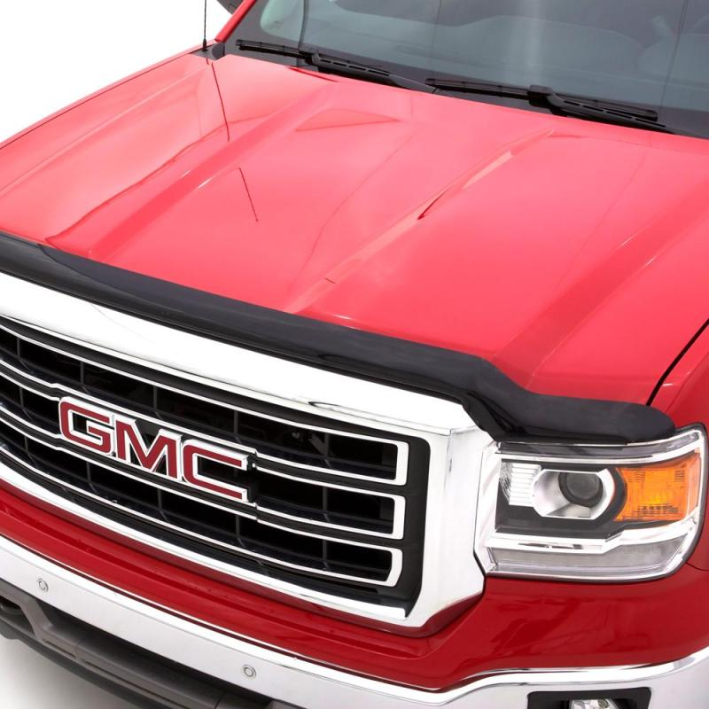 AVS 03-06 Chevy Avalanche (w/o Body Hardware) Hoodflector Low Profile Hood Shield - Smoke