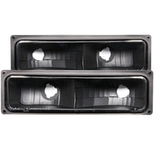 Load image into Gallery viewer, ANZO 1988-1998 Chevrolet C1500 Euro Parking Lights Black
