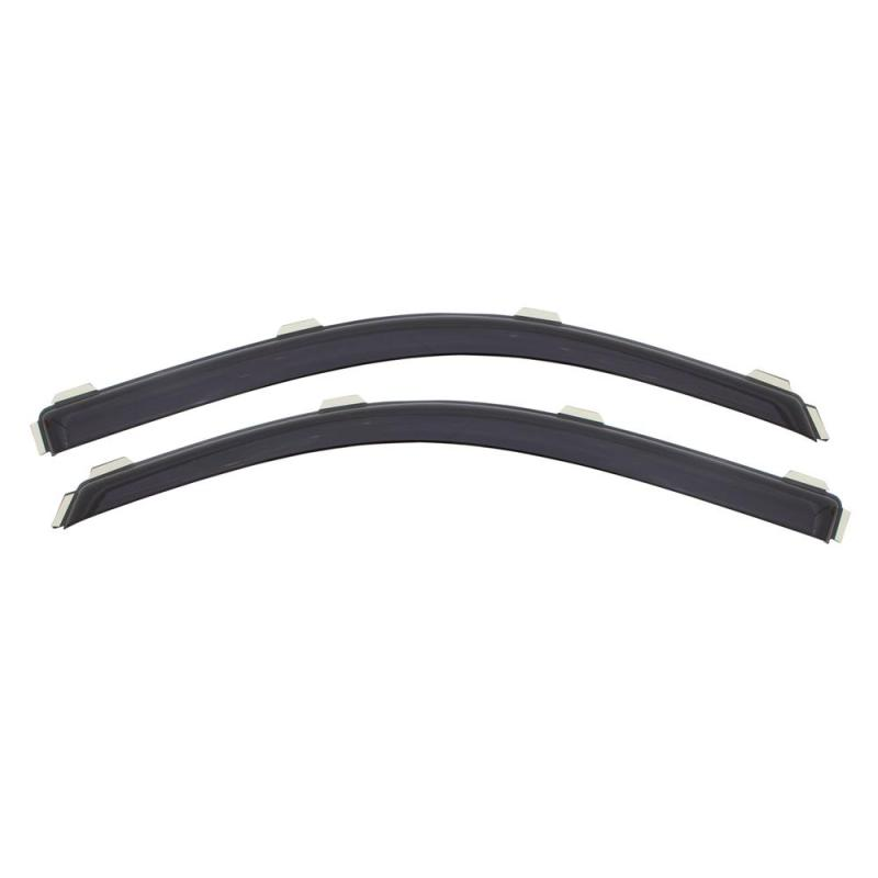 AVS 80-96 Ford Bronco Standard Cab Ventvisor In-Channel Window Deflectors 2pc - Smoke