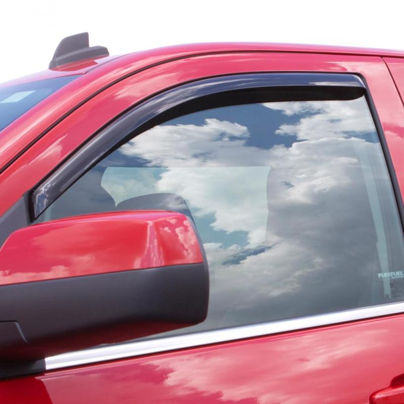 AVS 05-15 Toyota Tacoma Standard Cab Ventvisor In-Channel Window Deflectors 2pc - Smoke