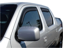 Load image into Gallery viewer, AVS 06-14 Honda Ridgeline Ventvisor In-Channel Front & Rear Window Deflectors 4pc - Smoke