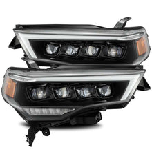Load image into Gallery viewer, AlphaRex 14-20 Toyota 4Runner NOVA LED Proj Headlights Plank Style Alpha Black w/Activation Light