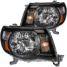 Load image into Gallery viewer, ANZO 2005-2011 Toyota Tacoma Crystal Headlights Black
