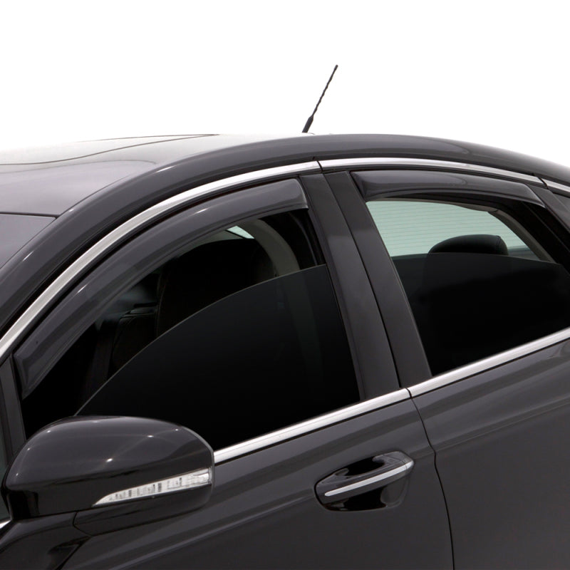 AVS 01-07 Ford Escape Ventvisor In-Channel Front & Rear Window Deflectors 4pc - Smoke