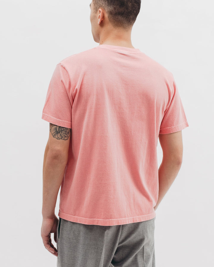 Natural Dyed SS Jersey Coral