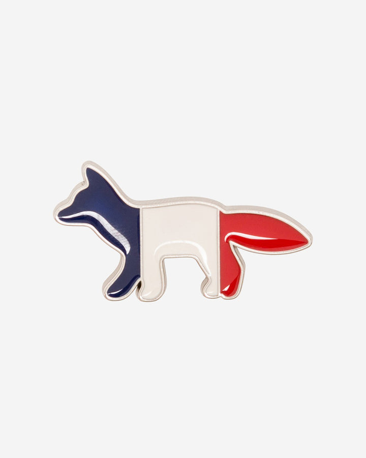 Tricolor Fox Pin