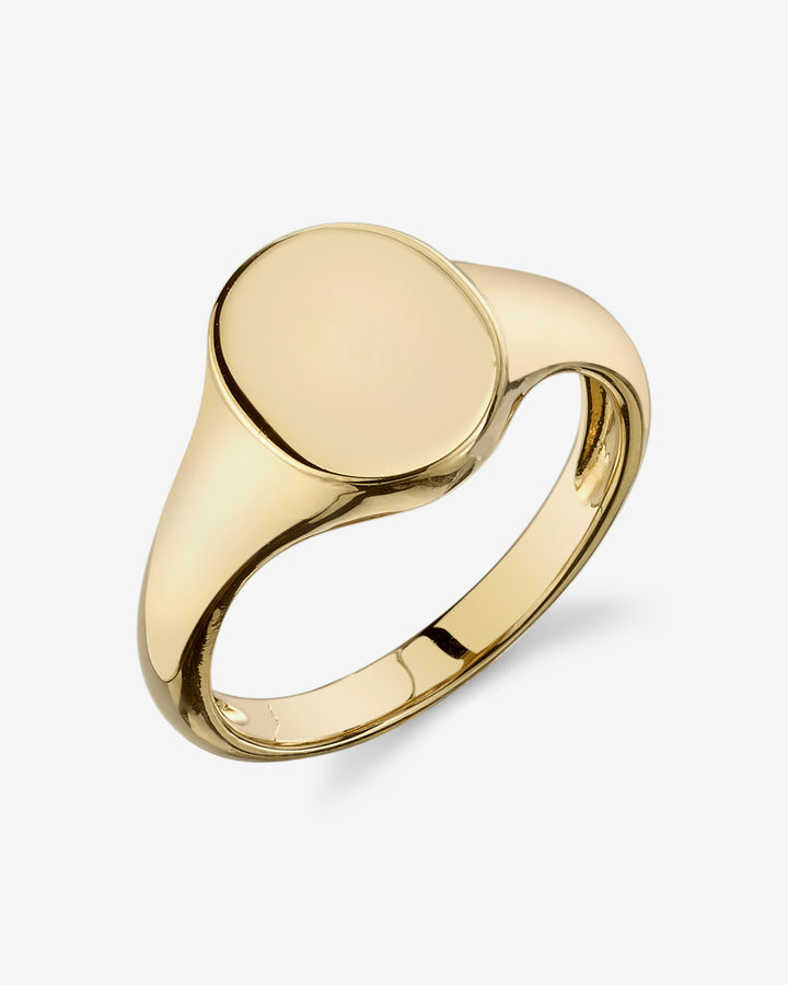 Disc Signet Ring