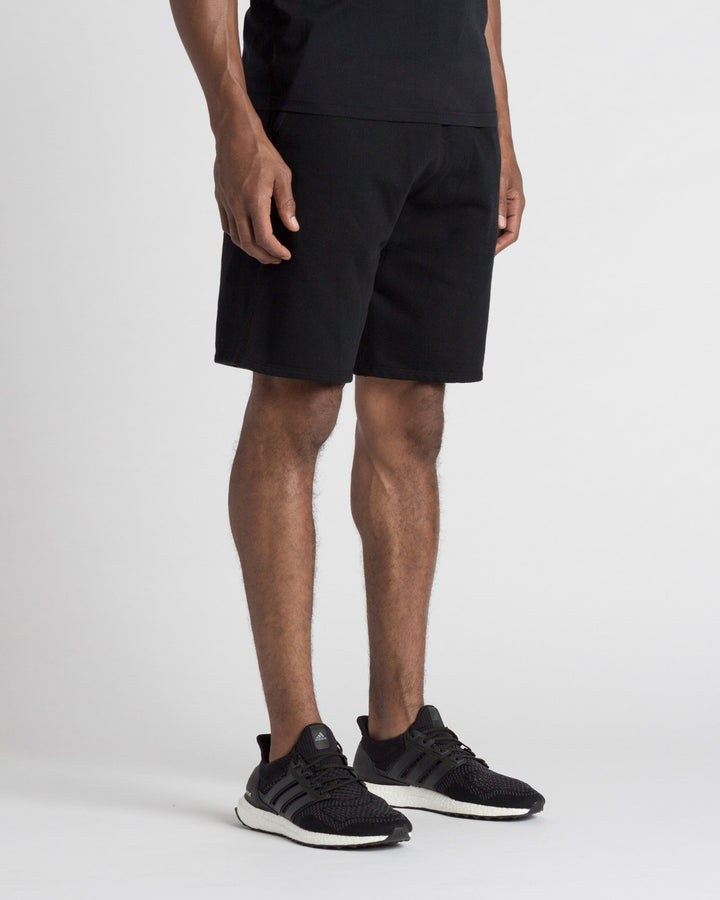 Mid Weight Terry Sweatshort Black