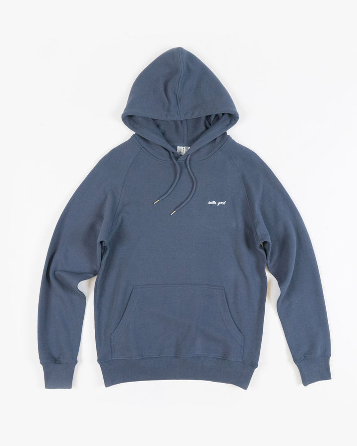 Hella Good Hoodie Lightweight Dusty Blue