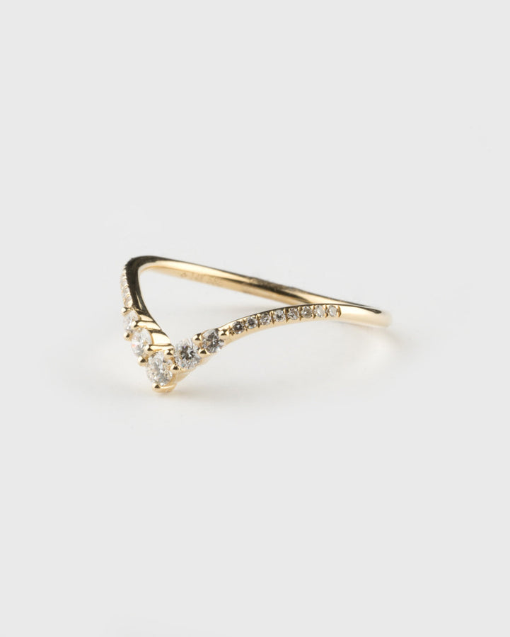 Arch Ring 14k Yellow Gold