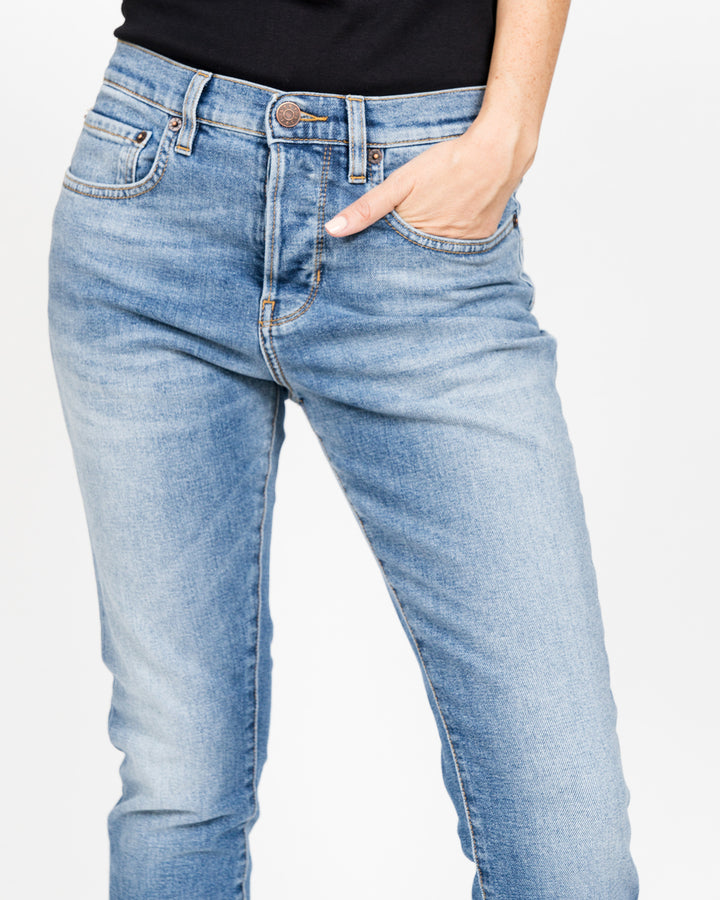 Boy Jean Light Clean