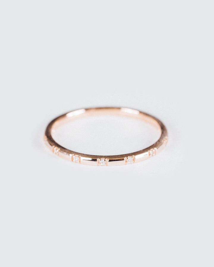 Stardust Ring Rose Gold