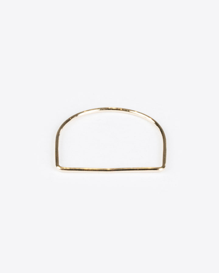 Flat Ring 10k Yellow Gold