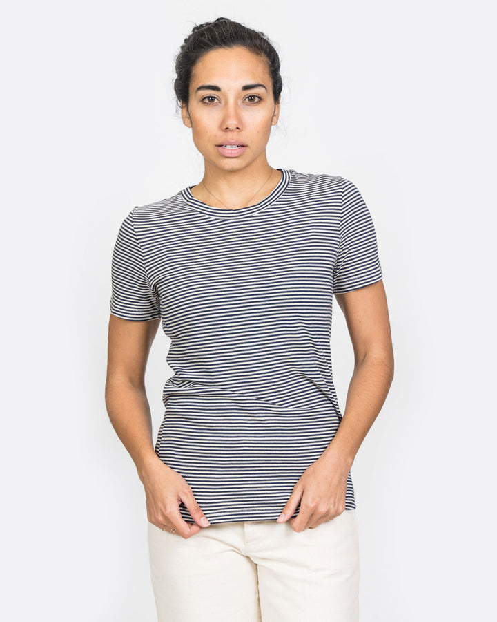 Rampling Tee Picasso Stripe Navy