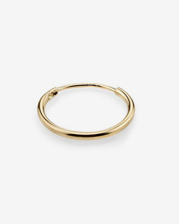 14k Infinite Loop Earring