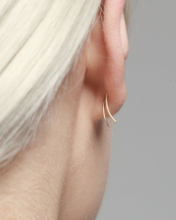 Infinite Tusk Earring