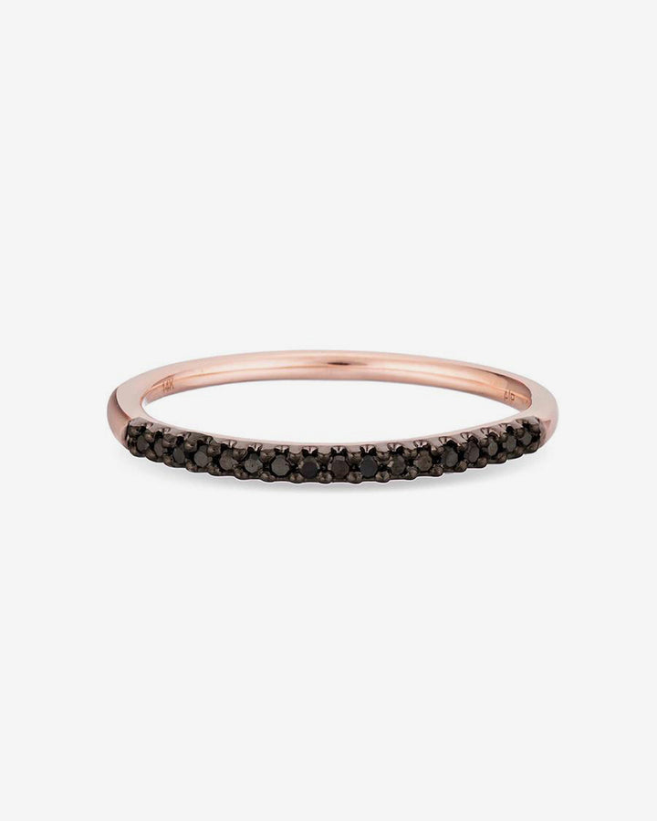 Pave Band Ring 14k Rose Gold