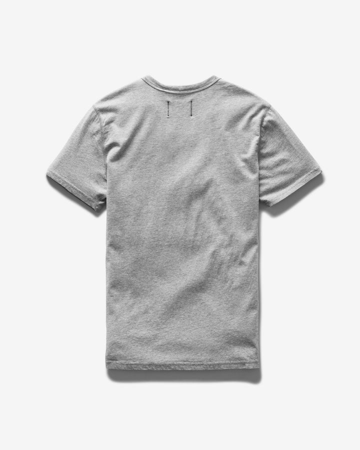 Ringspun Jersey Tee Heather Grey