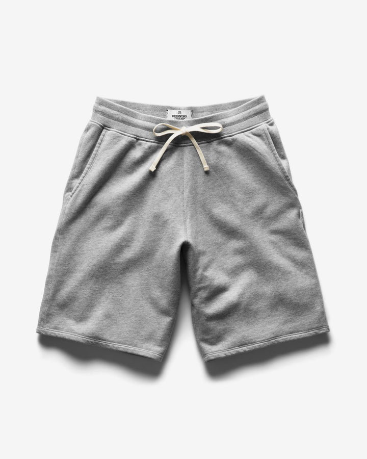 Mid Weight Terry Sweatshort Heather Grey
