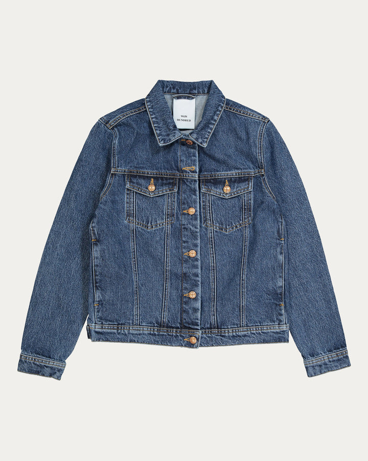 Seventeen Denim Jacket Stone Blue