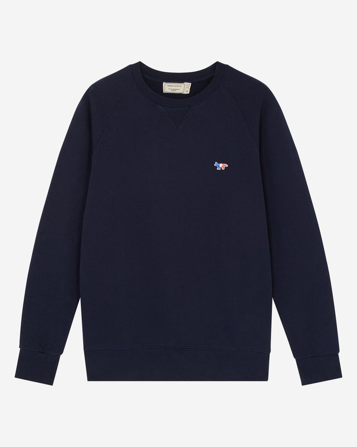 Tricolor Fox Sweatshirt Navy
