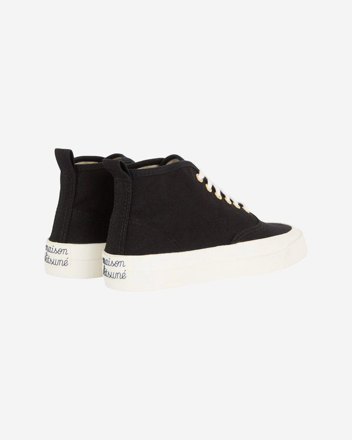Canvas High Top Sneakers Black
