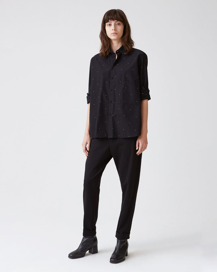Elma Shirt Black Dot