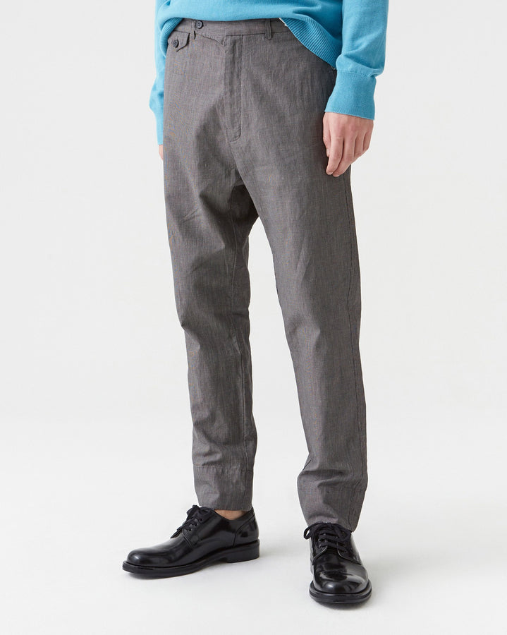 Edwin Trouser Grey Dogtooth