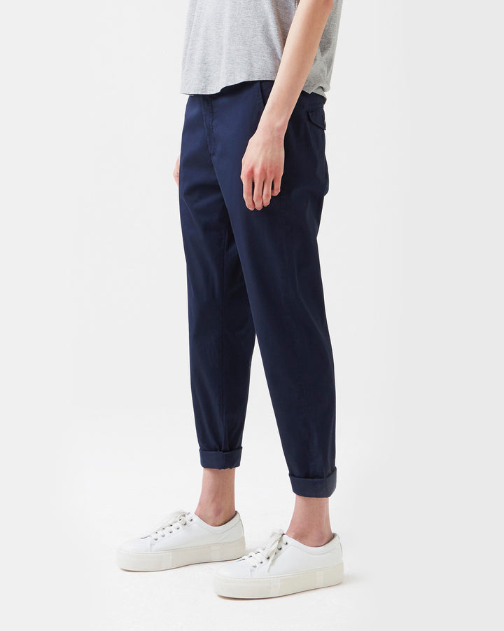 News Trouser Dark Blue