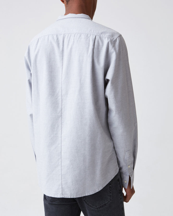 Rick Shirt Grey Melange