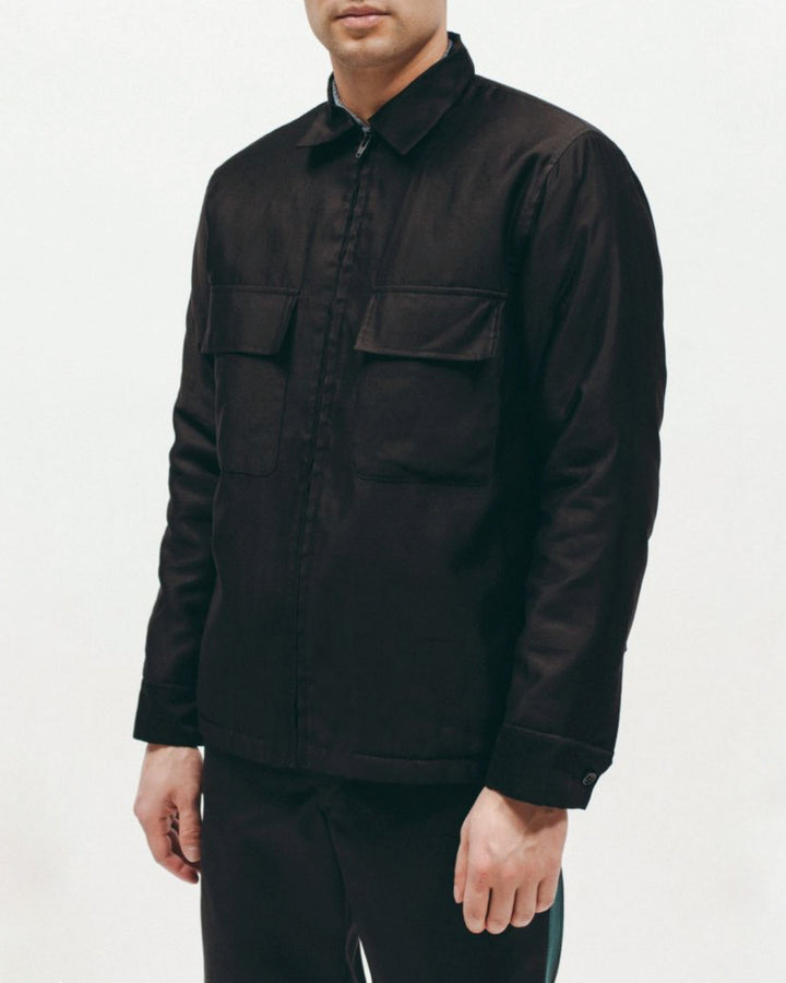 Quilted Moleskin Shirt