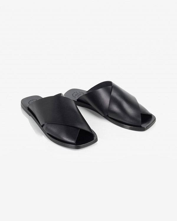 Alicia Flat Sandal Black