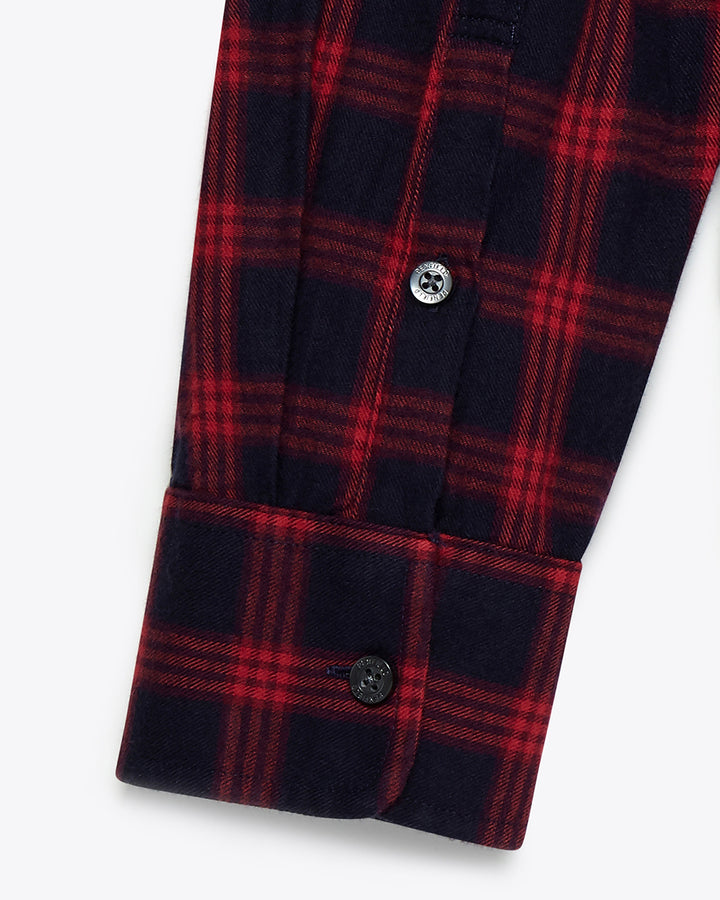 Corey Brushed Flannel Check Shirt