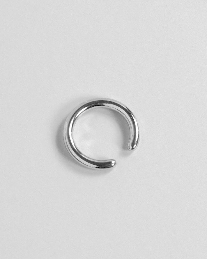 Soft Open Band Sterling Silver