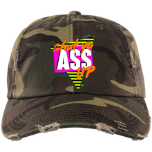 Load image into Gallery viewer, Shut Yo Ass Up Distressed Dad Cap