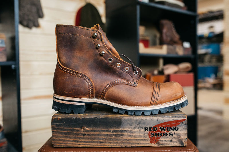 The Red Wing Shoe Company was established back in 1905 with a purpose to supply workers in industries like mining, farming, and logging with durable, comfortable footwear. Today, this legacy of purposeful-craftsmanship never leaves their mind, and sustain