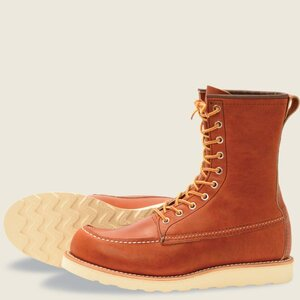 Red Wing 8 Inch Classic Moc - 877 - Oro Legacy Leather