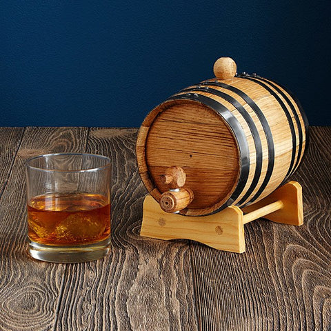 whiskey and rum aging barrel 2019 gift guide for men
