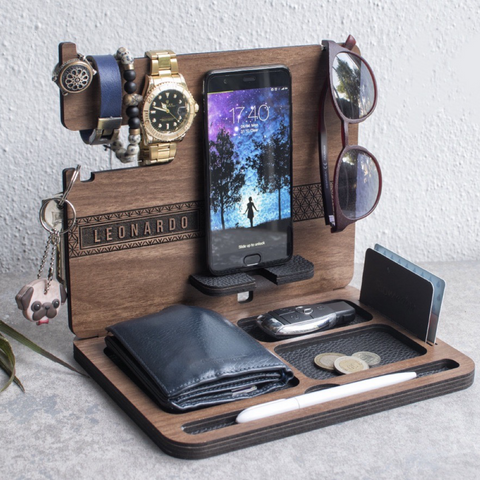 personalized docking station 2019 gift for him