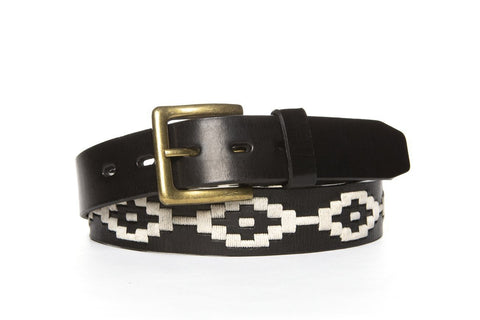 handcrafted polo belt by la matera
