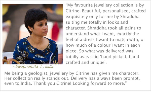 Citrine by Shradha Customer Reviews - Swapnamita