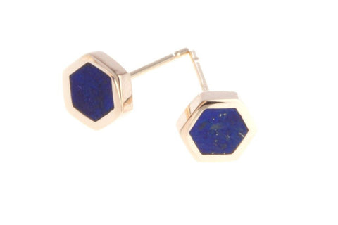 Honeycomb Ear Studs