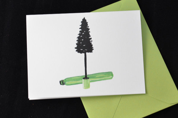 Mascara Christmas Tree