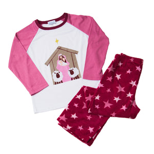 Girls Nativity Pajamas