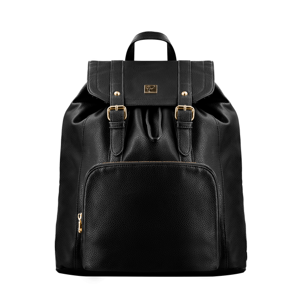 Camden Backpack (Black and Gold) - Packs Project