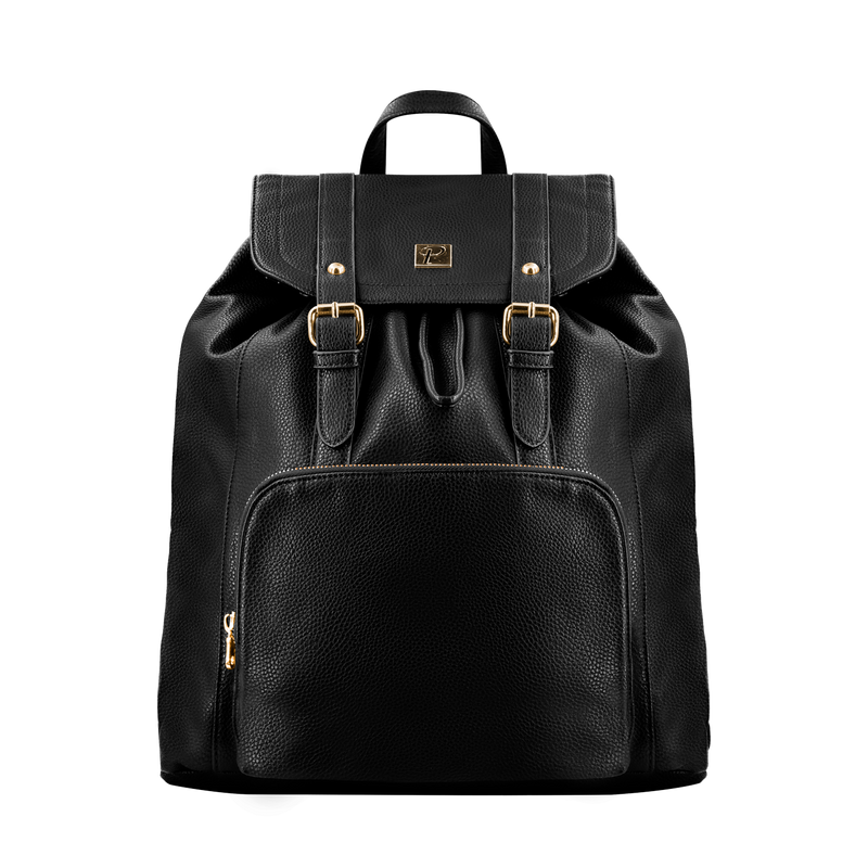 Camden Backpack (Black and Gold)