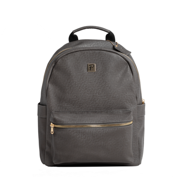 Logan Backpack (Grey and Gold) - Packs Project