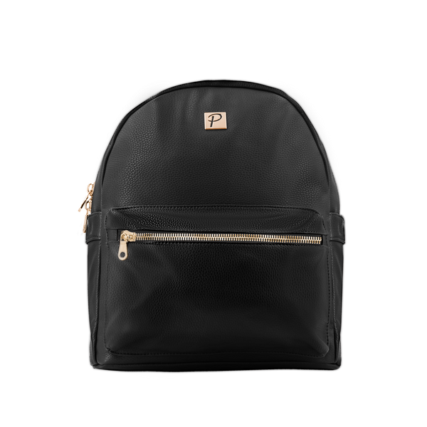 Mia Backpack (Black and Gold)