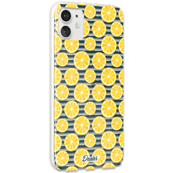 Coque Transparente Citrons